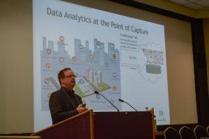 Steve Gardner presenting